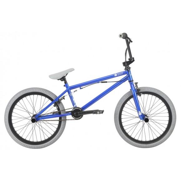 Bicicleta BMX HARO Leucadia DLX albastru metalic 20.3 2018