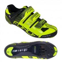 Pantofi Force Spike Road fluo/negru