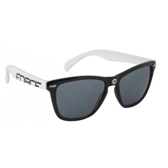 Ochelari Force Free negru/alb lentile black laser