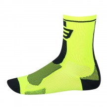 Sosete Force Long fluo/negru