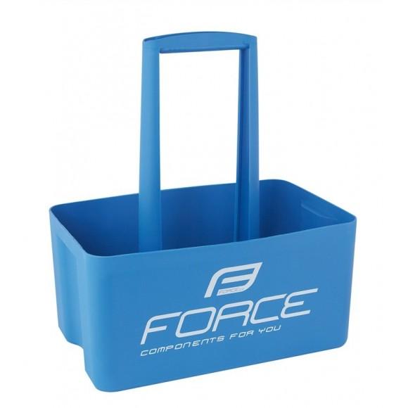 Suport Force pentru 6 sticle albastru