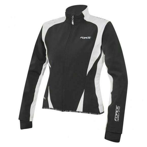 Jacheta Force X71 Lady softshell negru alb L