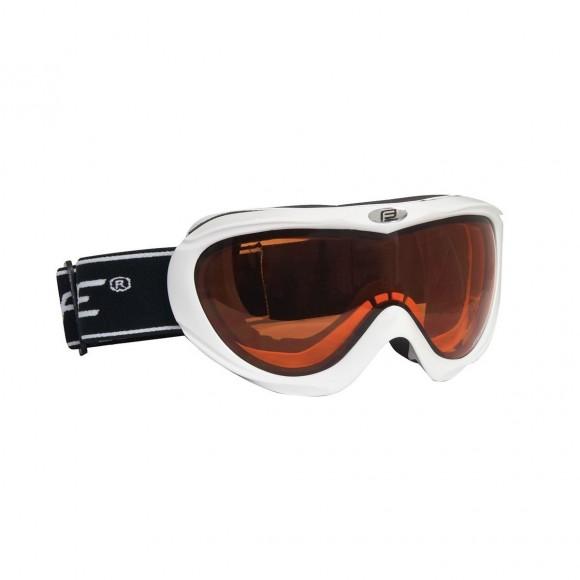 Ochelari ski Force Lady-Kid albi lentila orange