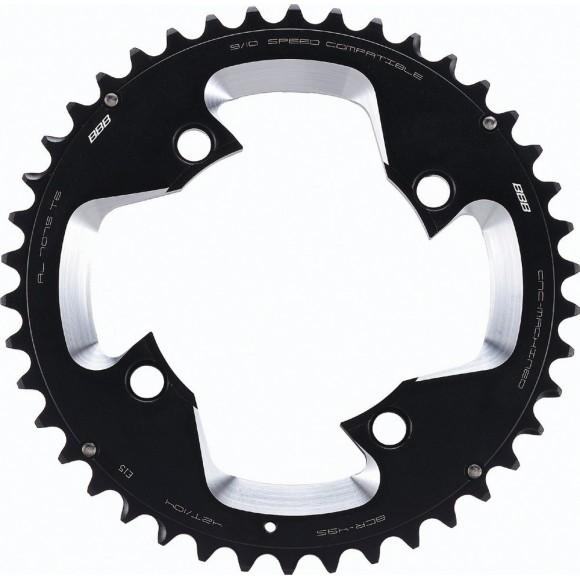Placa pedalier BBB MTBGear comp. 3x10 Shimano 42T/104 mm