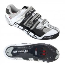 Pantofi Force Road negru/alb