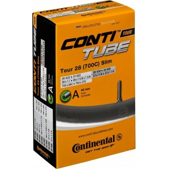Camera bicicleta Continental Tour 28 Slim A40 28-609-37-642