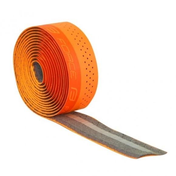 Ghidolina Force PU logo embosat portocalie