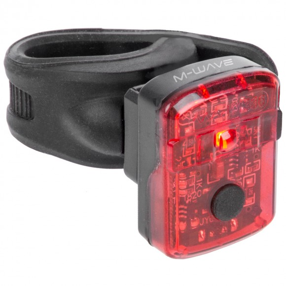 Stop Spate cu Acumulator M-WAVE Helios K 1.1 USB SL
