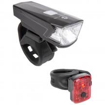 Set Lumini cu Acumulator M-WAVE ATLAS K15 USB