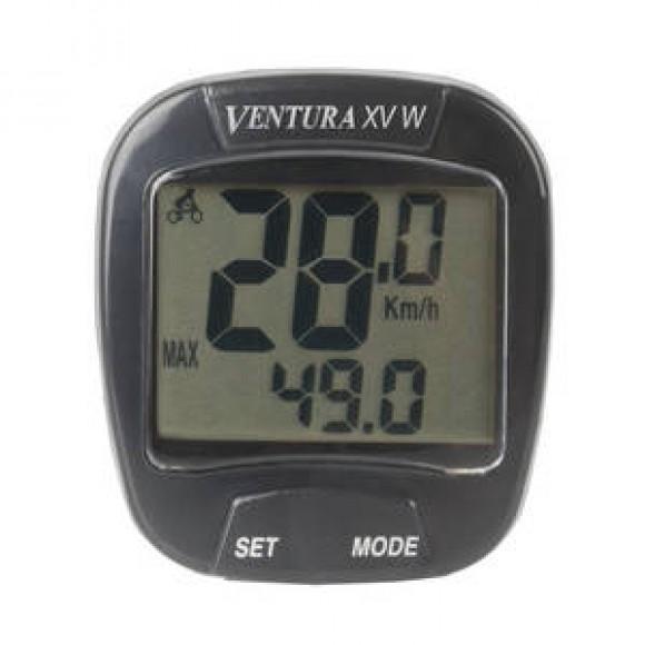Bike Computer Wireless VENTURA  XV W  15 Functii