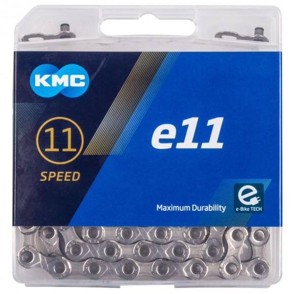 Lant E-Bike  KMC E11-Silver 11 viteze 122 zale