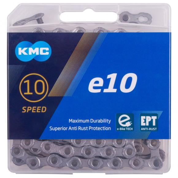 Lant E-Bike KMC E-10 -EPT Silver 10 V  136 Zale