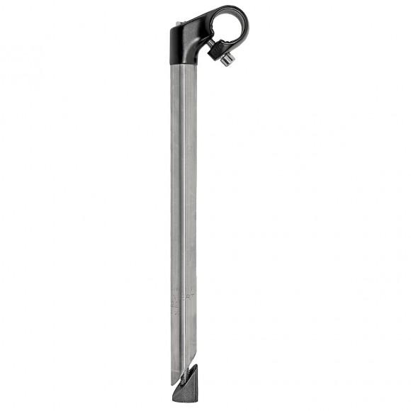 Adaptor cu Pipa Metal 1 40/300 mm Silver/Negru