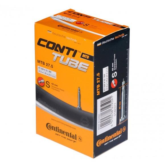 Camera bicicleta Continental MTB Light 27.5 valva Presta S42 47/60-584 27.5-1.75/2.4