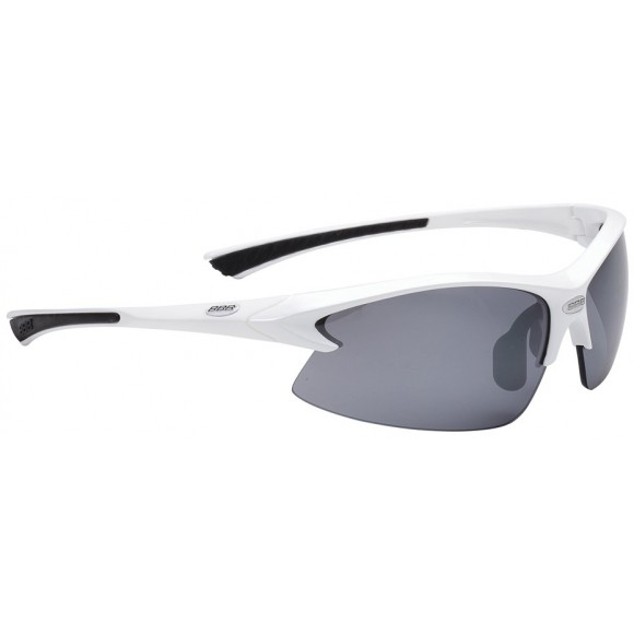 BBB Ochelari sport BSG-38 Impulse albi lentile fumurii