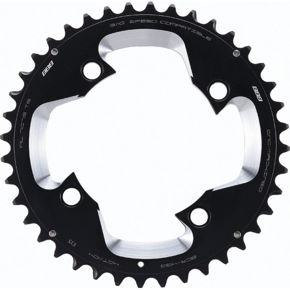 Placa pedalier BBB MTBGear comp. 3x10 Shimano 40T/104 mm