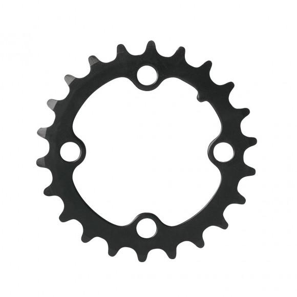 Placa pedalier Force 22T Cr-Mo neagra