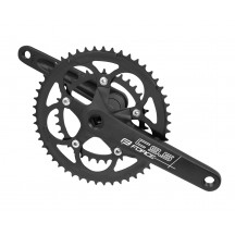 Pedalier Force Road C9.5 AL 50/34T 175mm negru