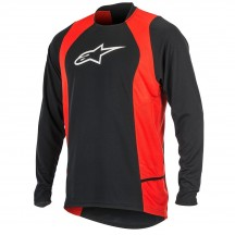 Bluza Alpinestars Drop 2 long Sleeve Jersey black/red