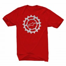 Tricou Alpinestars Forged Tee red L