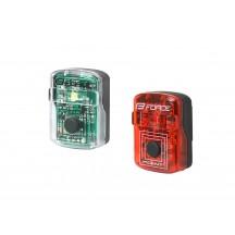 Set lumini Force Point USB fata+spate