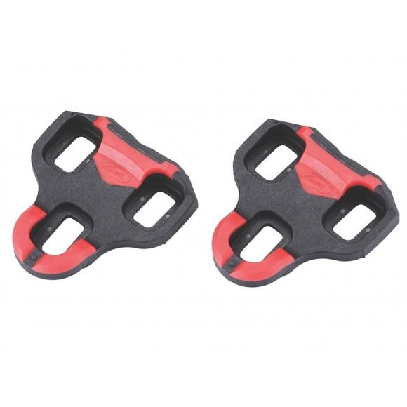 BBB Placute pedale BPC-04A MultiClip 2.0 7 grade negru/rosu