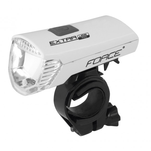 Far fata Force Extra USB 1 LED alb