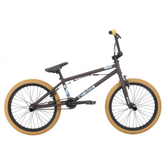 Bicicleta BMX HARO Downtown DLX matte rootbeer 20.3 2018