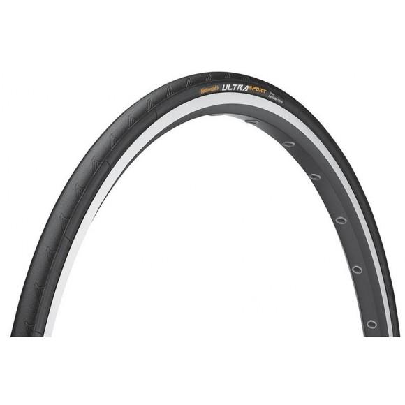 Anvelopa pliabila Continental UltraSport 25-622 (700-25C) negru/negru