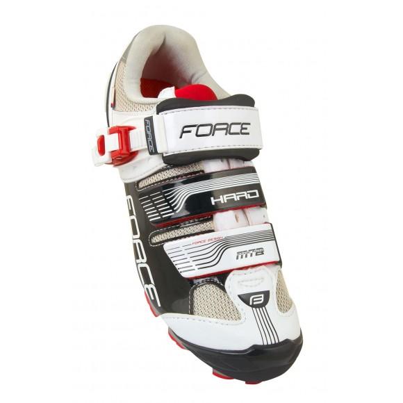 Pantofi MTB Hard Force negru/alb