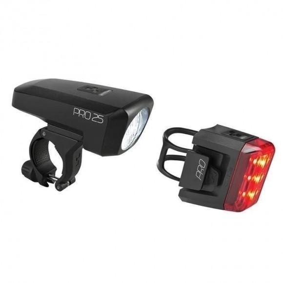 Set Lumini Bicicleta Cube PRO 25
