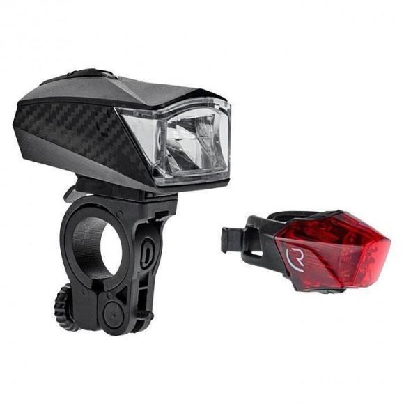 Set Lumini Bicicleta Cube RFR Tour 30