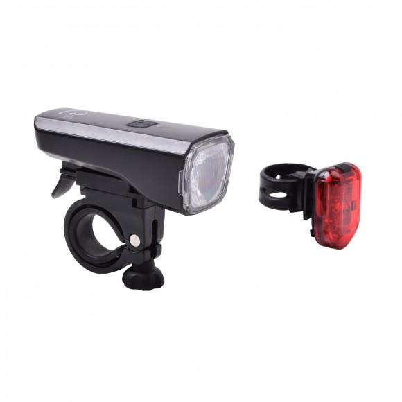 Set Lumini Bicicleta Cube RFR Tour 25 USB