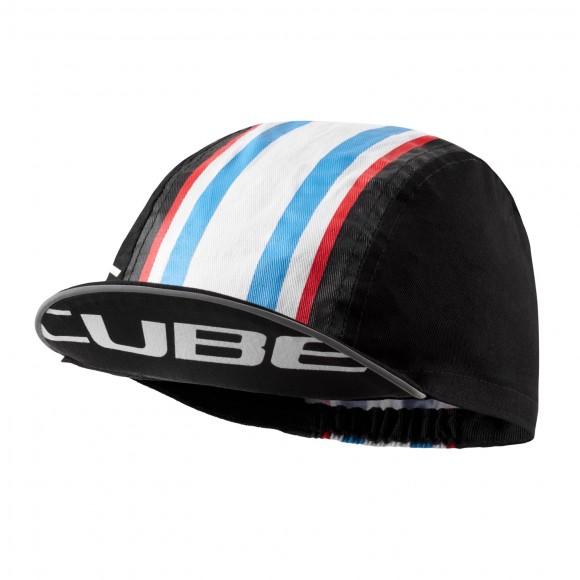 Sapca Cube Race Cap Black White Blue